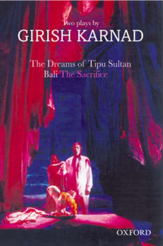 The Dreams of Tipu Sultan and Bali