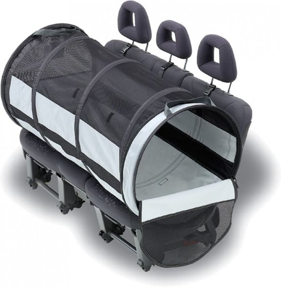 PetEgo Pet Tube Car Kennel - L (61 cm x 119 cm)