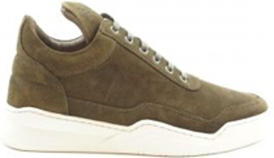 Pieces Low Waxed Dark Green Filling Suede Ghost Top 345ARqcjL