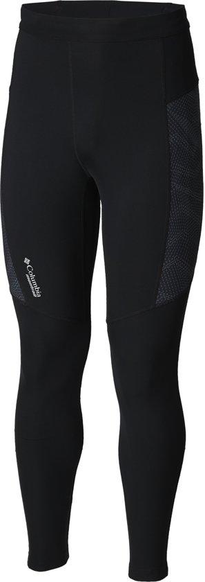 Columbia Bajada Ii Ankle Tight Hardloopbroek Heren - Black
