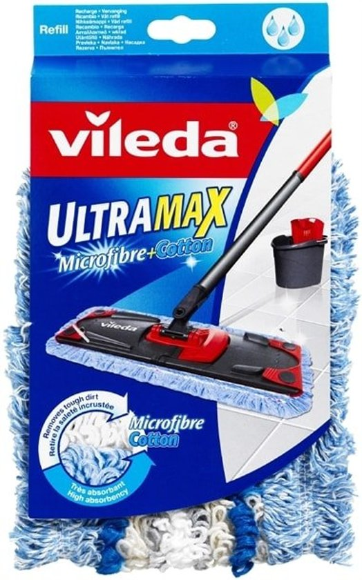 Vileda Ultra Max Micro & Coton Vervanging