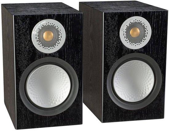 Monitor Audio Silver 50 - Boekenplank Speaker - Zwart