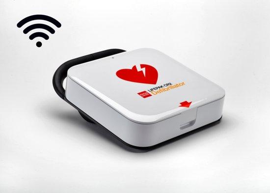 Totaal pakket Lifepak CR2 AED halfautomaat met WIFI Nederlands
