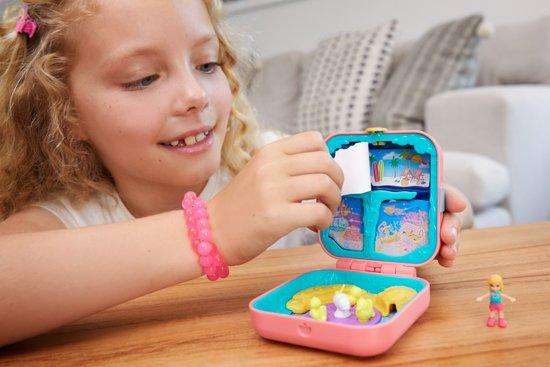 Polly Pocket Hidden Hideouts Polly's Zeemeerminnengrot - Speelfigurenset