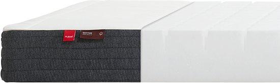 Flexa Basic Hit schuimmatras schuimmatras 90x190 cm voor extra bed, wit, grijs.