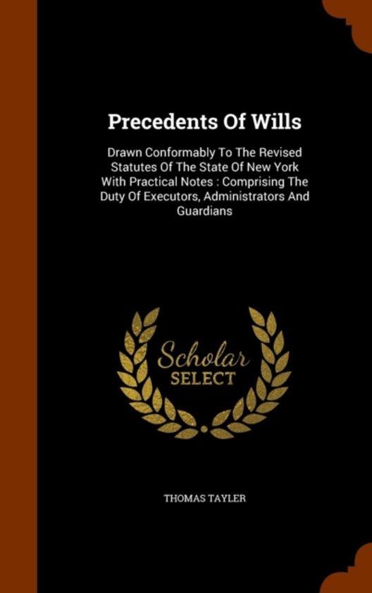 Precedents of Wills