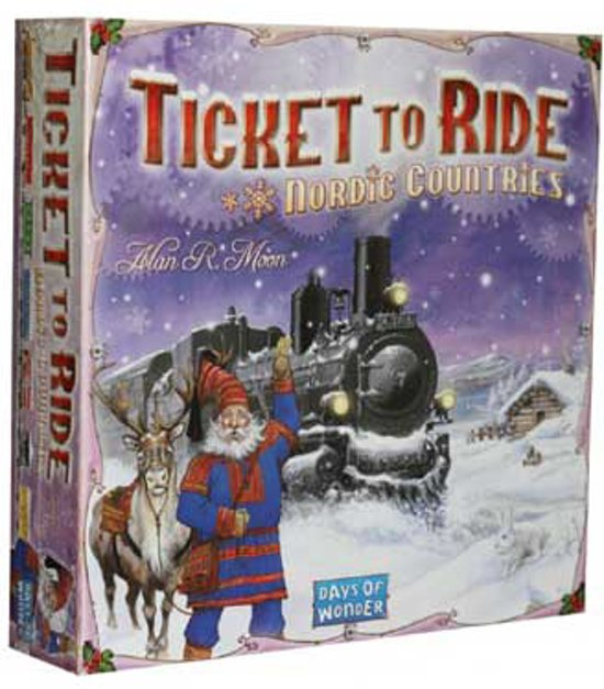 Afbeelding van Ticket to Ride Nordic Countries - Bordspel - Engelstalig speelgoed