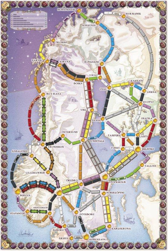 Ticket to Ride Nordic Countries - Bordspel - Engelstalig