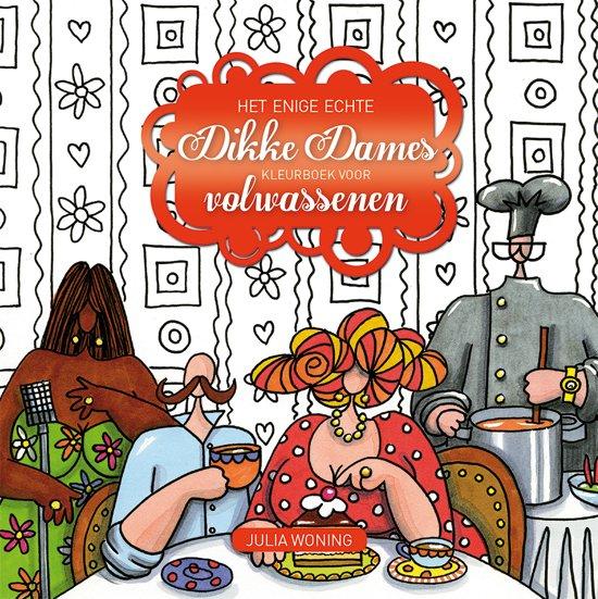 Afbeelding van Het enige echte Dikke Dames kleurboek voor volwassenen