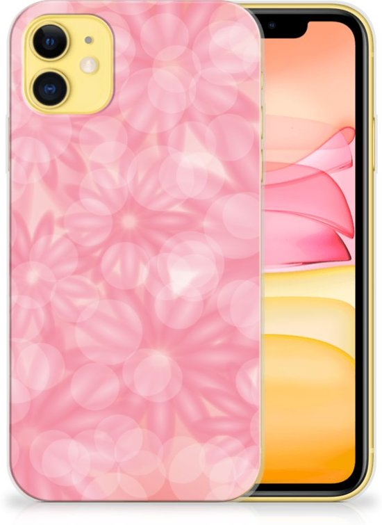 iPhone 11 TPU Case Spring Flowers
