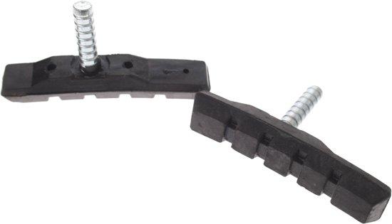 Promax Remblokken Set Cantilever Zwart 70 Mm Per Paar