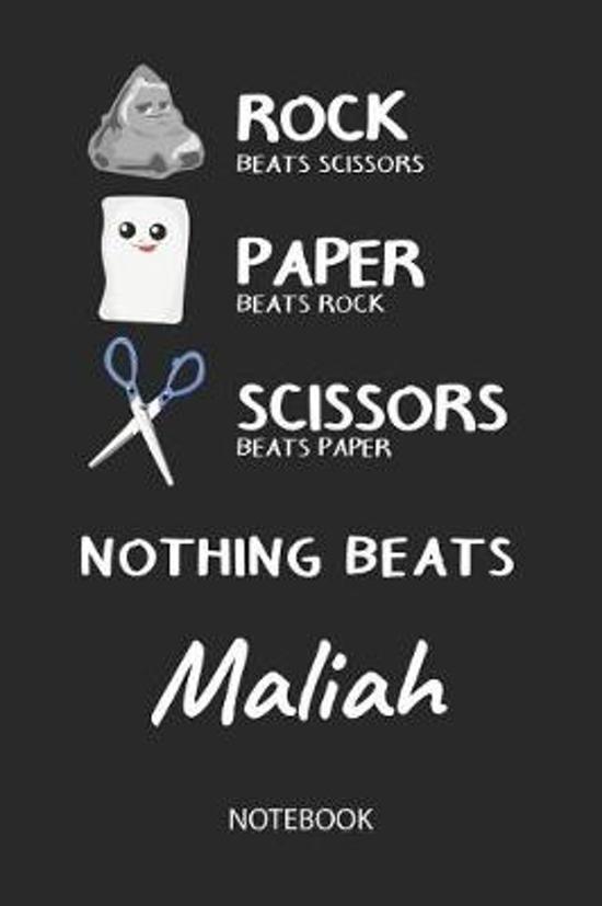 Nothing Beats Maliah - Notebook