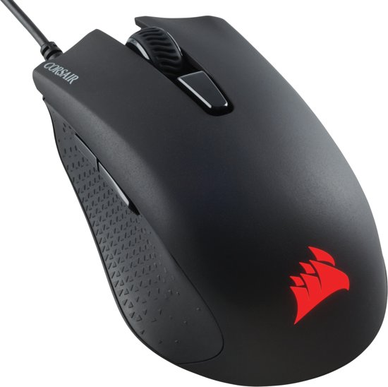 Corsair Harpoon RGB - Gaming Muis - Zwart