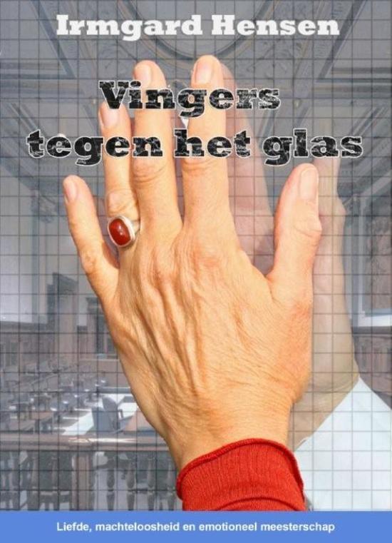 Vingers tegen het glas