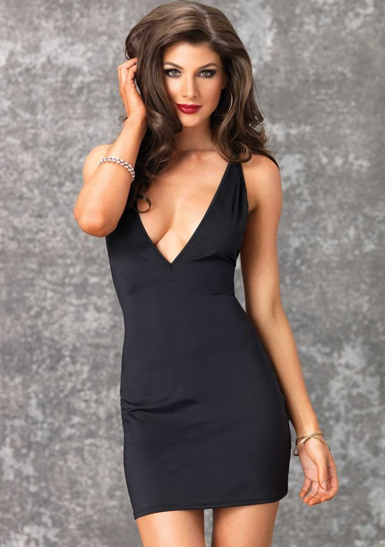 klassieke zwarte jurk