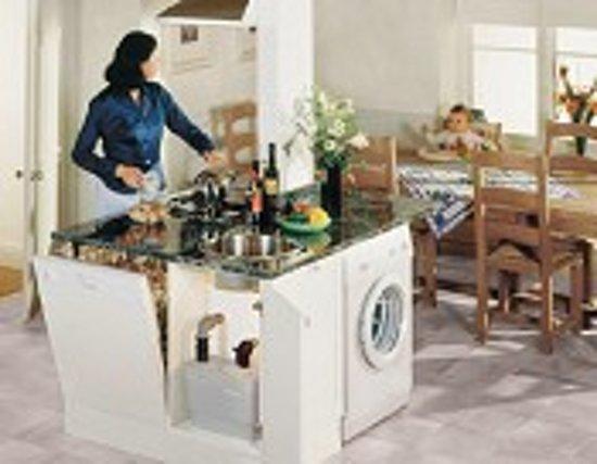 Sanibroyeur sanispeed vuilwaterpomp voor keuken douche bad bidet en wastafel opvoerhoog - Geintegreerde keuken wastafel ...