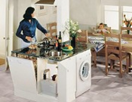 Immo de ras te huur geintegreerde keuken wastafel risofu