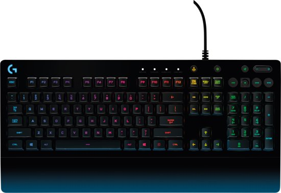 Toetsenbord Met Licht : Bol logitech g prodigy gaming toetsenbord qwerty