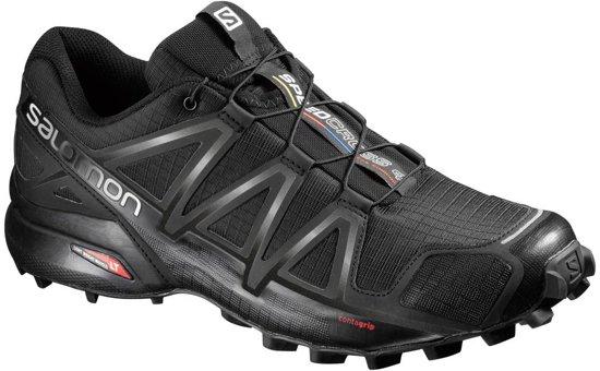 Salomon Speedcross 4 Wide Trailrunschoen Zwart 44 2/3