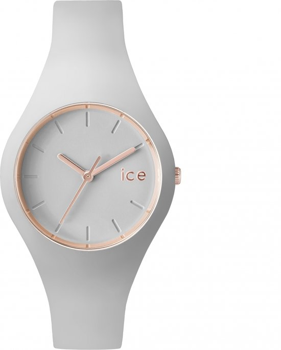 Ice-Watch ICE-Glam Pastel Small  ICE.GL.WD.S.S.14 - Polshorloge - Grijs-  34 mm