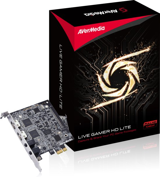 AVerMedia 61C9850000AR - Live Gamer HD Lite, Video Capture card PCI-Express