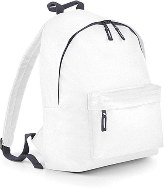 BagBase Backpack Rugzak - 14 l - Wit