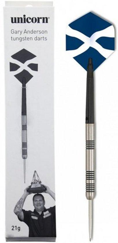 Unicorn Gary Anderson Super Star 90% steeltip dartpijlen