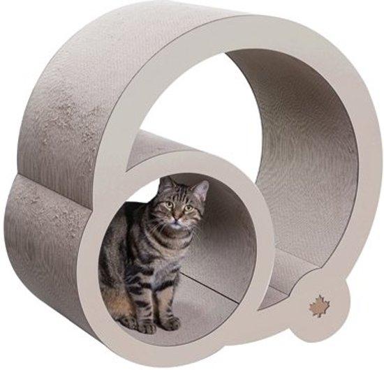 Canadiancat company krabpaal cats grove xxl beige 46,5x90x82 cm