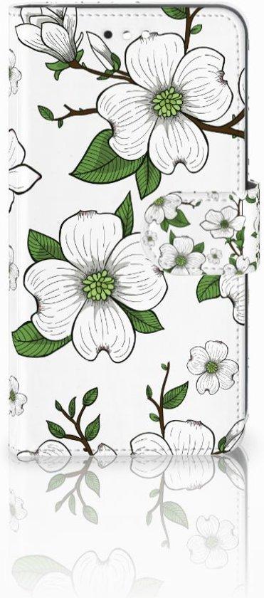 Motorola Moto C Plus Boekhoesje Design Dogwood Flowers