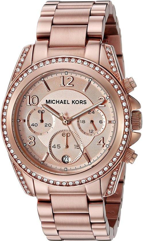 Michael Kors MK5263 Horloge Rosékleurig Ø 40 mm