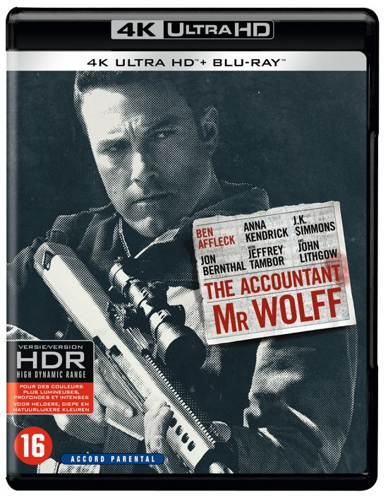 The Accountant (4K Ultra HD Blu-ray)
