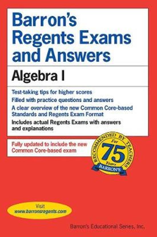 Boek cover Regents Exams and Answers van Gary M. Rubinstein (Paperback)