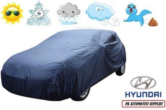 Autohoes Blauw Polyester Hyundai Genesis Coupe 2011-