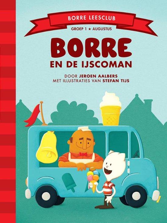 De Gestreepte Boekjes - Groep 1 augustus: Borre en de ijscoman