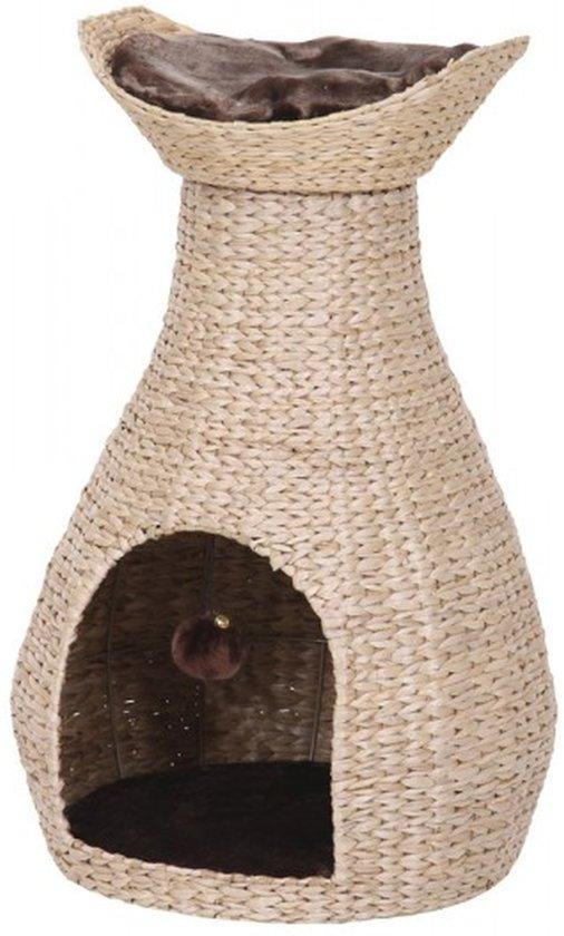 Nobby - Krabmeubel - Makan - Beige met pluche - 72 cm hoog - diameter 45 cm