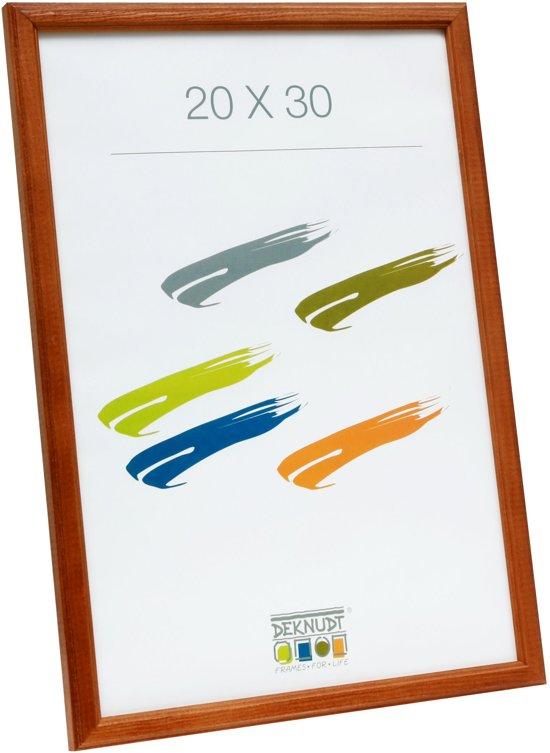 Deknudt Frames S236H2  40x50cm Bruine houten fotokader