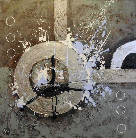 Modern Schilderij 100cmx100cm