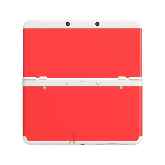 Nintendo New 3DS Cover 018 rood kopen