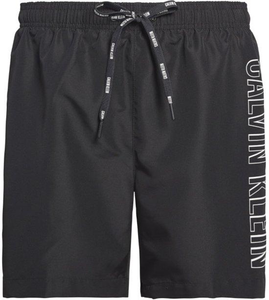 Zwembroek Zwart Heren.Bol Com Calvin Klein Heren Medium Drawstring Zwembroek Zwart S