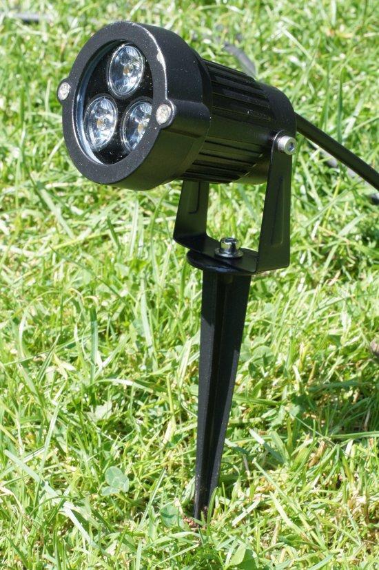 bol.com | LED tuinverlichting grond spot prikspot 12V - Warm Wit 9 W