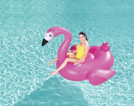 Bestway Flamingo Luchtmatras - Opblaasbare flamingo XL