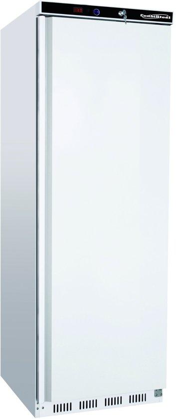 Horeca vrieskast met 1 deur Wit   555 Liter