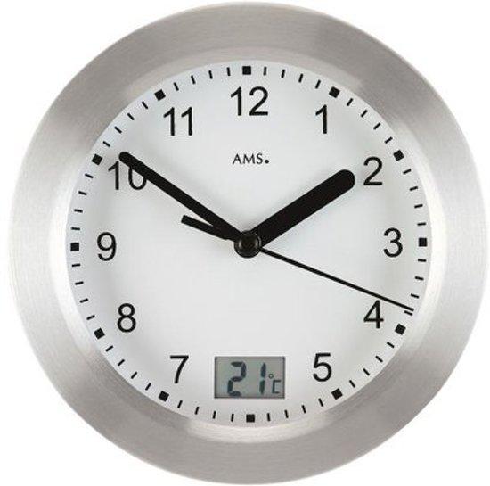 Fonkelnieuw bol.com | AMS kleine tafel of wandklok- W9223- met thermometer EA-12