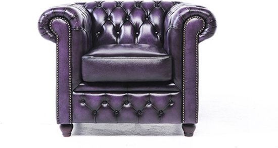 Chesterfield Fauteuils En Zetels.The Original Chesterfield Brighton Fauteuil Zetel Salon Met Arm Paars