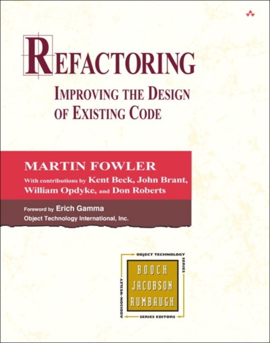Pearson Education Refactoring 464pagina's Engels softwareboek & -handleiding