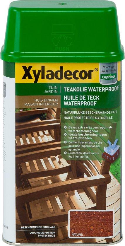 Xyladecor Teakolie Waterproof - Afwerkingsolie - Naturel - 1L