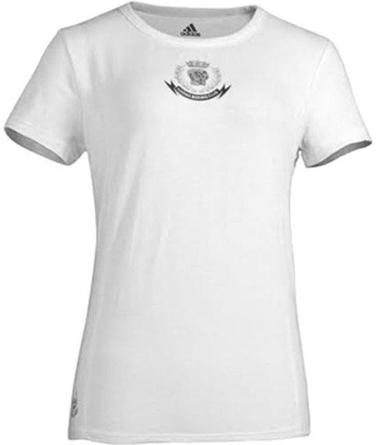 Adidas T-shirt Dames Wit Maat Xs