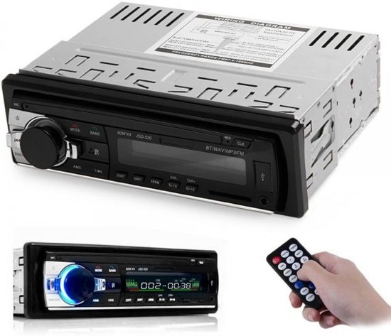 Autoradio – Handsfree functie – Bluetooth – Aux in