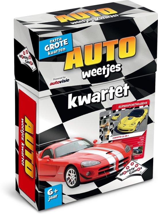 Auto Weetjes Kwartet - Kaartspel