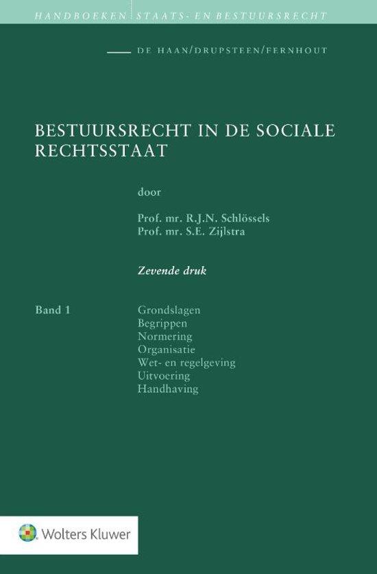 Bestuursrecht in de sociale rechtsstaat
